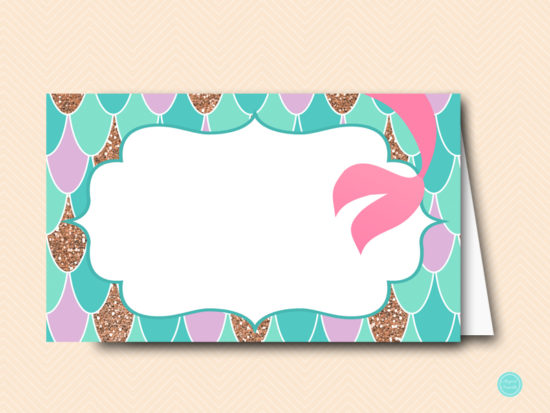 sn516-labels-mermaid-baby-shower-food-labels-tent-cards