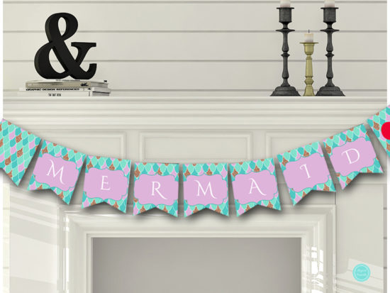sn516-banner-mermaid-baby-shower-birthday-party-banner