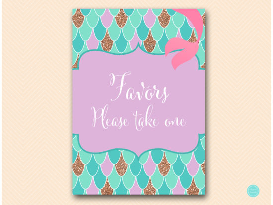 sn516-sign-favors-please-take-one-mermaid-party-themed-signs