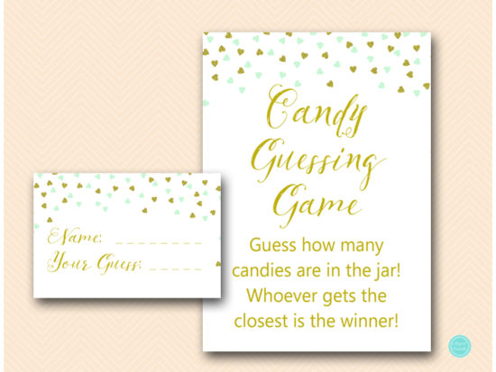 tlc488m-guess-how-many-candies-jar-mint-gold-baby-shower-game