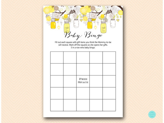 tlc507-bingo-baby-gifts-yellow-marson-jars-baby-shower