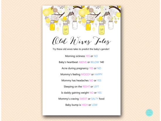tlc507-old-wives-tales-gender-prediction-yellow-marson-jars-baby-shower