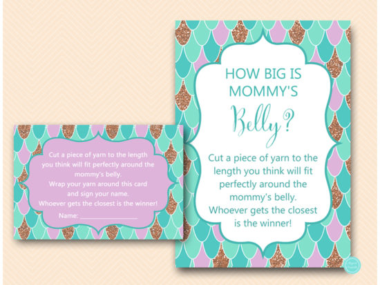 tlc516-how-big-is-mommys-belly-card-beach-baby-shower