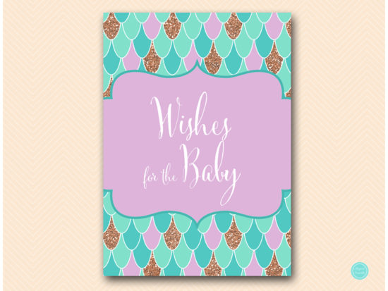 tlc516-wishes-for-baby-sign-mermaid-baby-shower-under-sea
