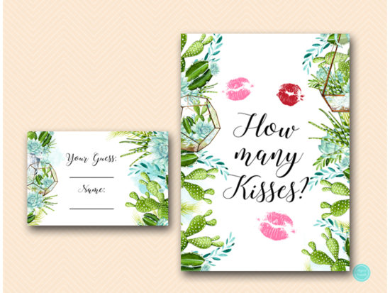 bs519-how-many-kisses-sign-5x7-succulent-bridal-shower-game