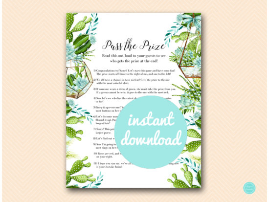 bs519-pass-the-prize-succulent-bridal-shower-game