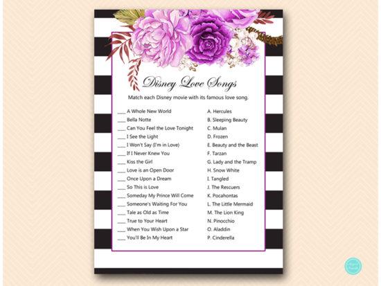 bs521-disney-love-songs-purple-bridal-shower-games