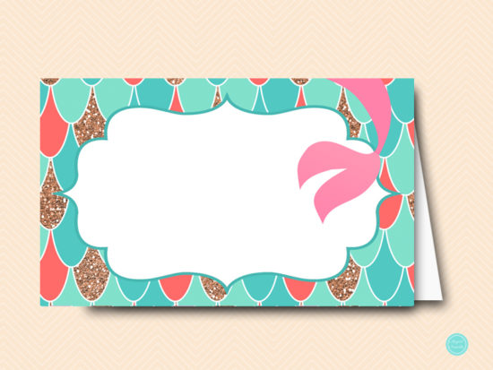 sn516c-labels-coral-mermaid-baby-shower-food-labels-tent-cards