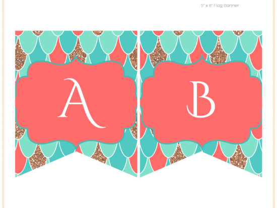 sn516c-banner-coral-mermaid-baby-shower-birthday-party-banner-printable