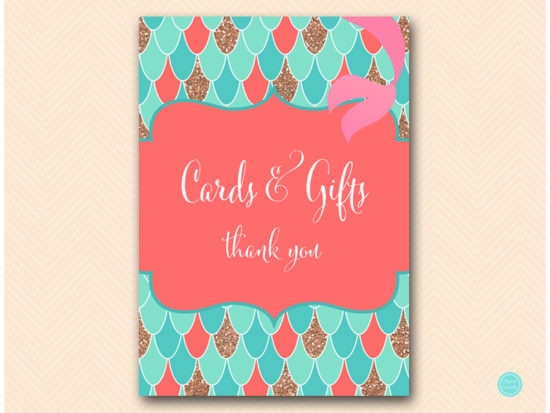 sn516c-cards-and-gifts-coral-mermaid-decoration-signs