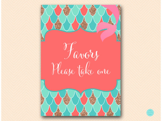 sn516c-favors-take-one-coral-mermaid-decoration-signs