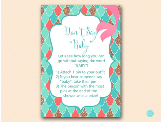 tlc516c-dont-say-baby-1pin-coral-mermaid-baby-shower-signs