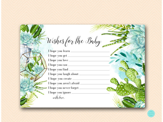 tlc519-wishes-for-baby-card-6x4-succulent-baby-shower-game