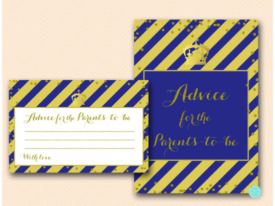 tlc467b-advice-for-parents-card-royal-blue-and-gold-prince-baby-shower-cards