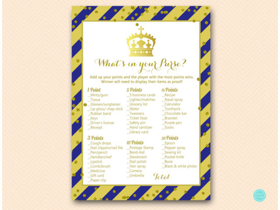 tlc467b-whats-in-your-purse-royal-blue-and-gold-prince-baby-shower