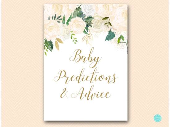 tlc530-baby-predictions-and-advice-sign-5x7