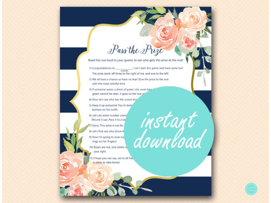 tlc536-pass-the-prize-navy-gold-baby-shower-game