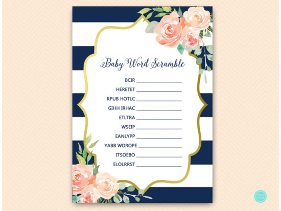 tlc536-scramble-baby-words-navy-gold-baby-shower-game