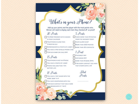 tlc536-whats-in-your-phone-navy-gold-baby-shower-game