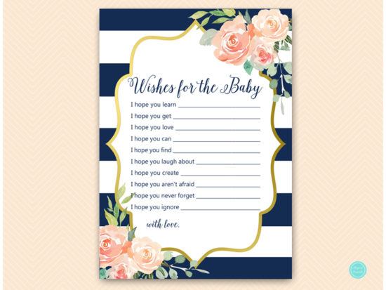 tlc536-wishes-for-baby-card-navy-gold-baby-shower-game