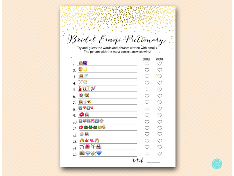 It's just a graphic of Emoji Bridal Shower Game Free Printable for emoji name