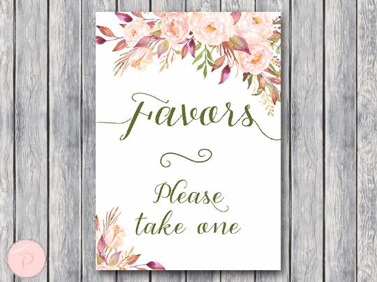 boho-floral-favors-sign-instant-download