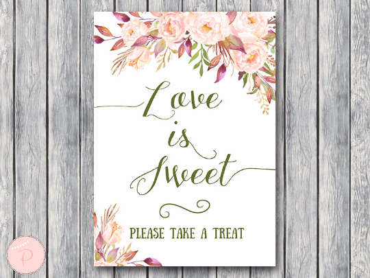 boho-floral-love-is-sweet-take-a-treat-sign