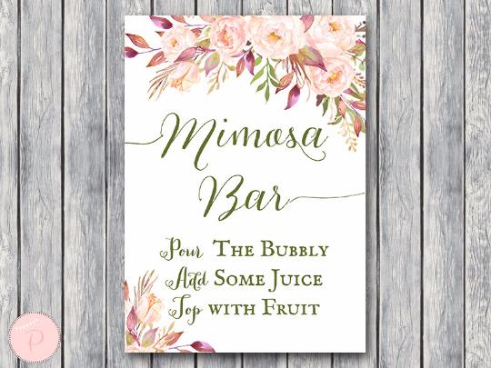 boho-floral-mimosa-bar-sign