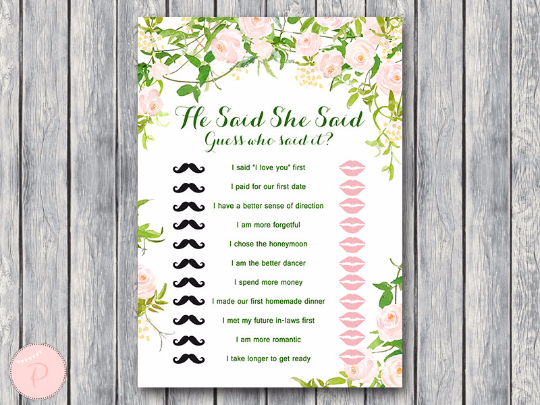 garden-he-said-she-said-bridal-shower-game