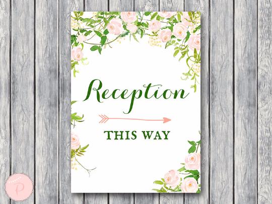 garden-reception-sign-instant-download