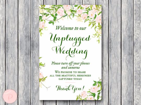 garden-unplugged-wedding-sign