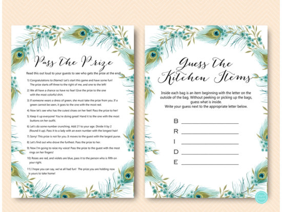peacock-bridal-shower-games-package-download