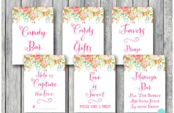 pretty-pink-bridal-shower-decoration-signs-650x488