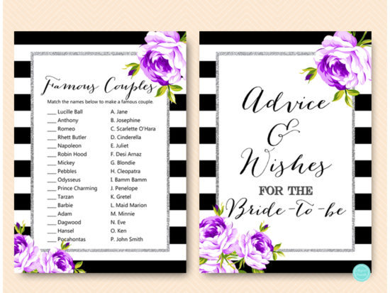 purple-silver-bridal-shower-games-purple-floral-1