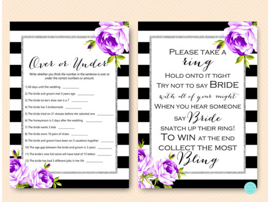 purple-silver-bridal-shower-games-purple-floral-2