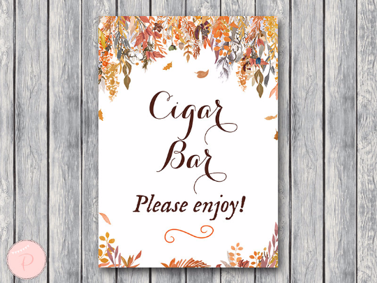 autumn-fall-cigar-bar-sign-instant-download