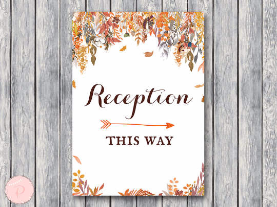 autumn-fall-reception-sign-instant-download
