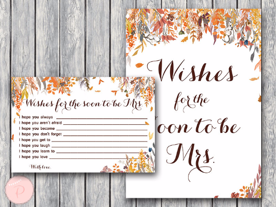 autumn-fall-wishes-for-the-bride-to-be-card