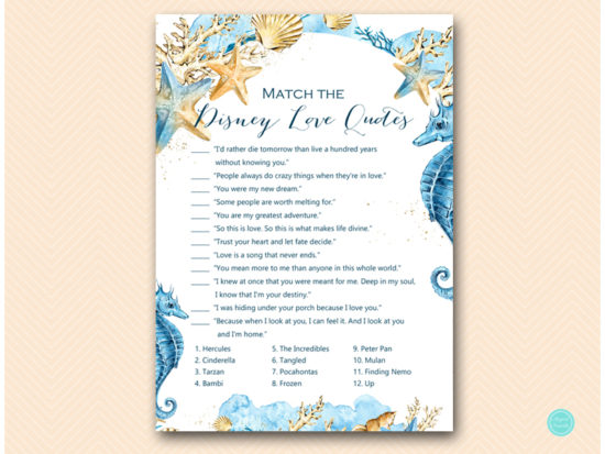 bs520-disney-love-quote-match-beach-seashells-bridal-shower