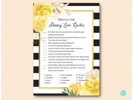 bs539-disney-love-quote-match-gold-yellow-bridal-shower-game