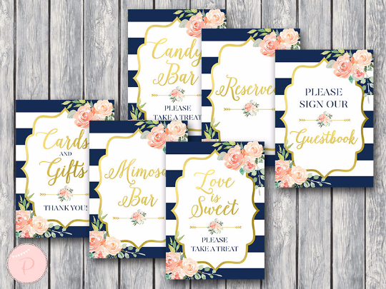 boho-navy-gold-bridal-shower-table-signs-package-gld
