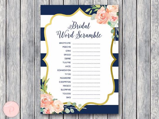 boho-navy-gold-bridal-word-scramble