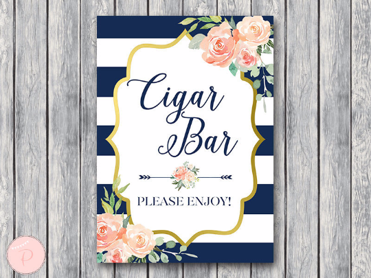 boho-navy-gold-cigar-bar-sign-nvy