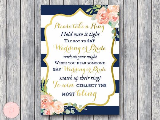boho-navy-gold-dont-say-wedding-and-bride-gld