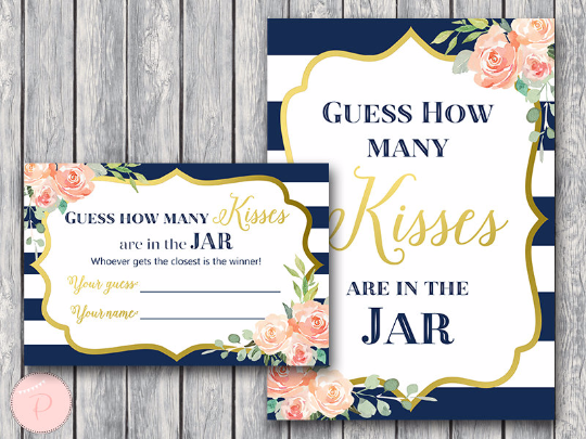 boho-navy-gold-guess-how-many-kisses-gld