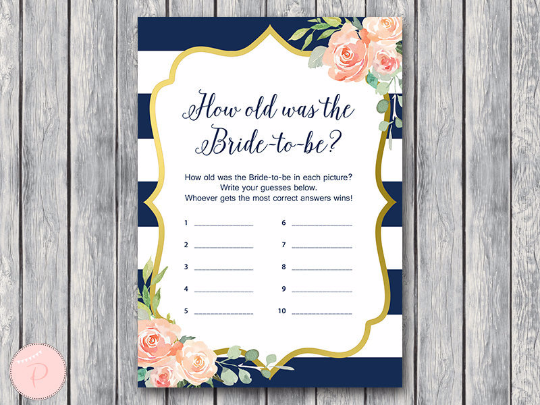 boho-navy-gold-how-old-was-the-bride-to-be-nvy