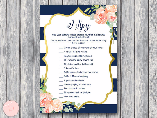boho-navy-gold-i-spy-wedding-scavenger-game