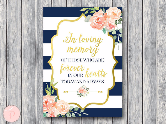 boho-navy-gold-in-loving-memory-wedding-sign-gld