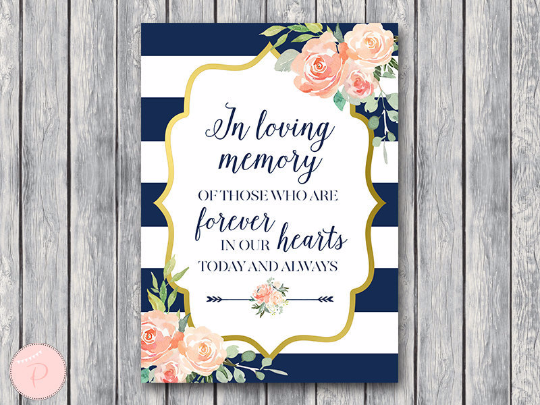 boho-navy-gold-in-loving-memory-wedding-sign-nvy