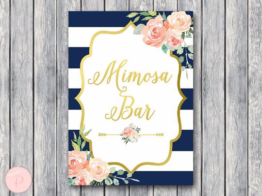 boho-navy-gold-mimosa-bar-sign-gld